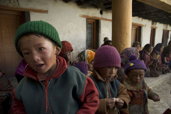 Most of the Changpa children attend school. Literacy rate among them has increased