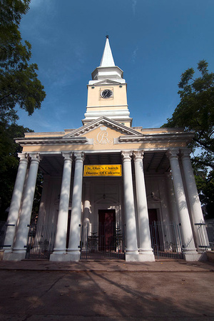 10. St. Olave's Church of Serampore, which was founded by subscriptions from Calcutta and Copenhagen in 1805
